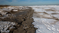 Gull Point Beach with Ice Dunes