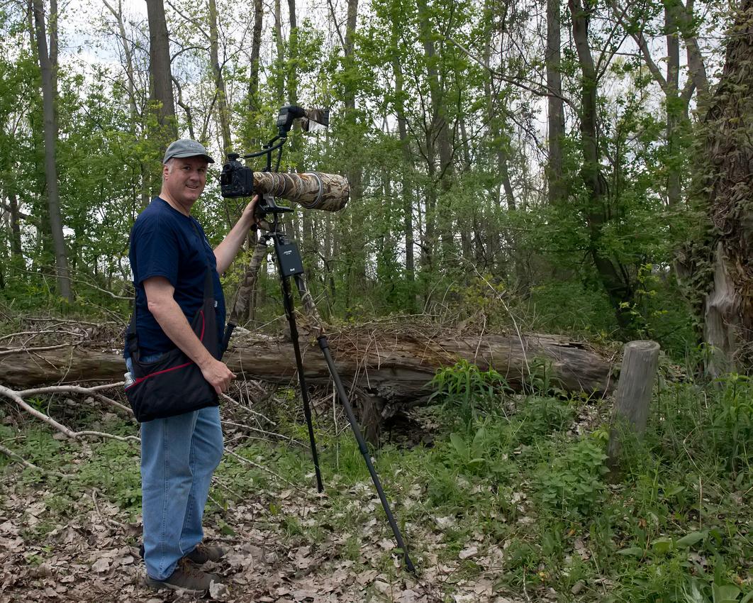 Dan at Magee Marsh